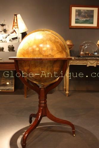 Floor-globe-terrestrial-Cary- 1804