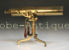 antique-reflecting-telescope-18th