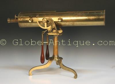 antique-reflecting-telescope-18th