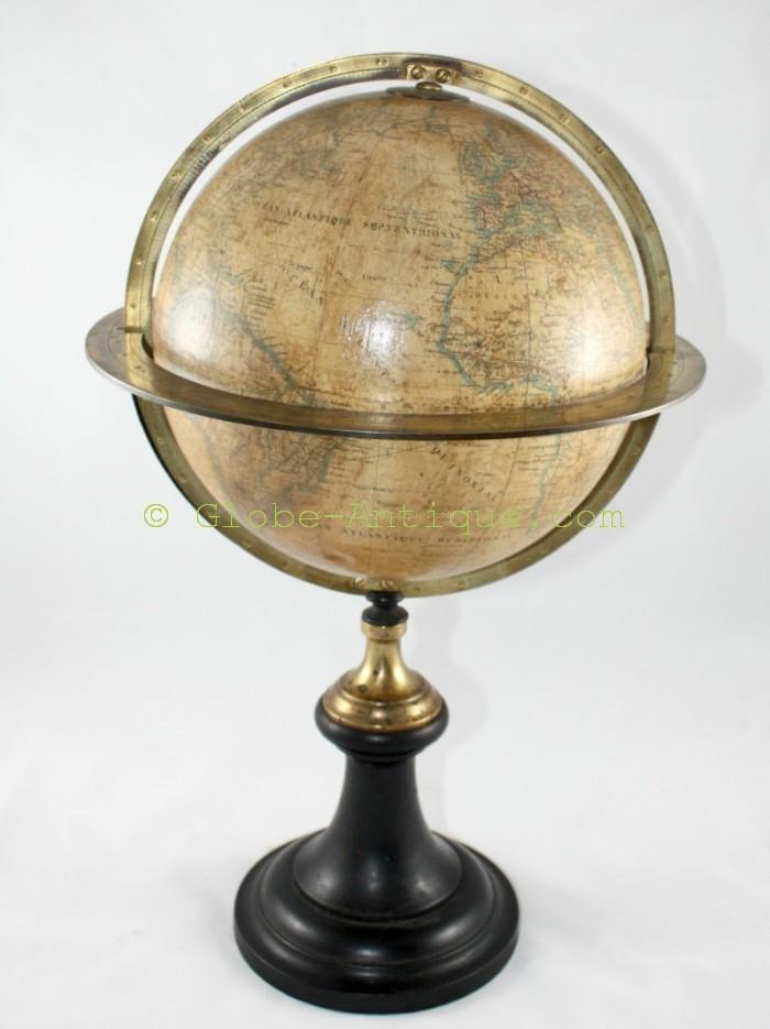 terrestrial globe delamarche paris 19th antique scientific and nautical instruments. Black Bedroom Furniture Sets. Home Design Ideas