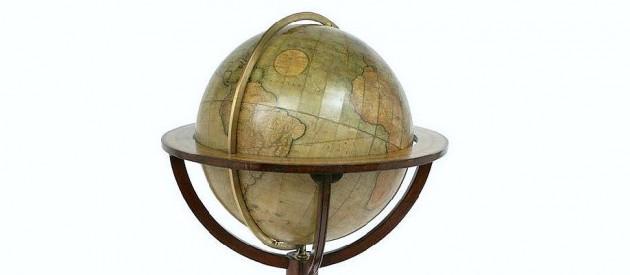 library-terrestrial-celestial-globe-newton-london