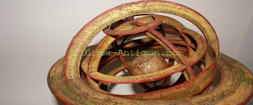 antique armillary sphere delamarche