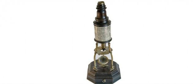 Microscope Matthew Loft c.1730 England