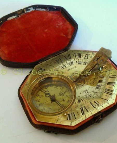 Antique-Sundial-type-butterfield-signed-le-maire-paris-1750