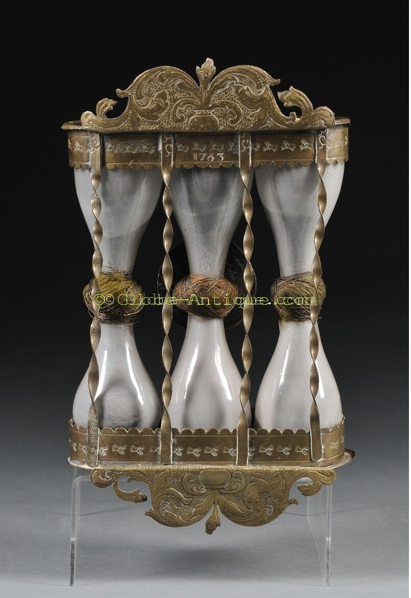 Hourglass dated 1763 - Antique scientific and nautical ...