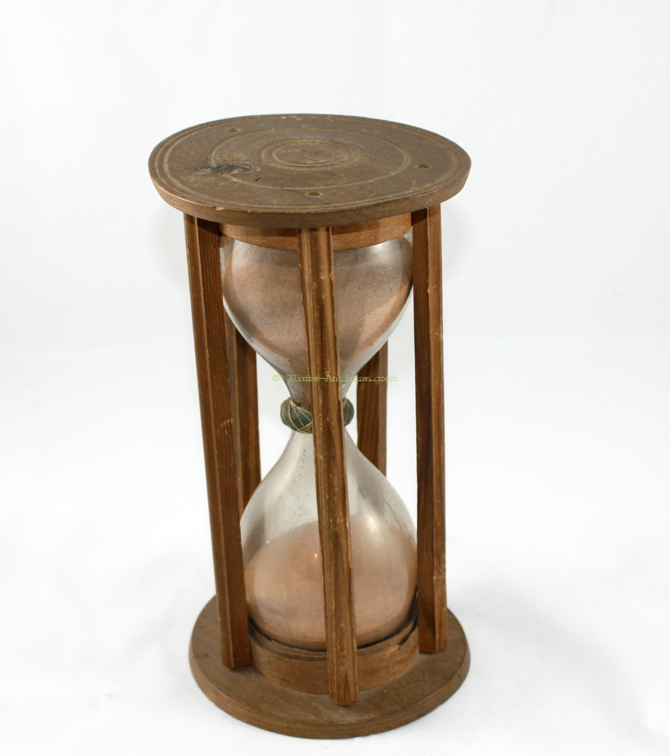 Nautical Hourglass 18th Century Antique Scientific And Nautical Instruments