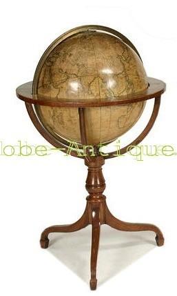 globe terrestre de parquet cary london antique scientific and nautical instruments. Black Bedroom Furniture Sets. Home Design Ideas